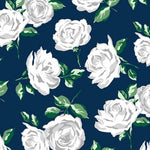 La Vie En Rose Navy - Cuddle - 1/2 Metre
