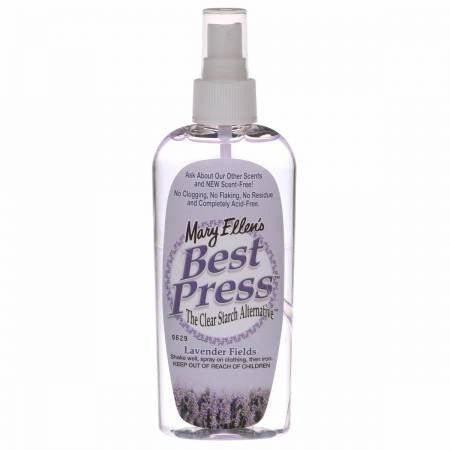 Best Press Spray Starch Lavender Fields 6oz