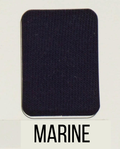 Marine- LUXE Solids FRENCH TERRY - 1/2 Metre