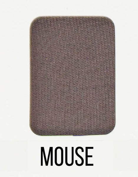 Mouse - LUXE Solids FRENCH TERRY - 1/2 Metre