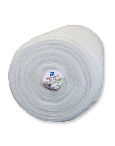 "Quilter's Touch® High Loft Polyester Batting - 96"" Wide - 1/2 Metre"