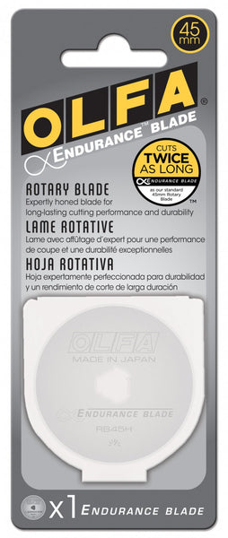 45mm Endurance Rotary Replacement Blade - 1-pack - Olfa