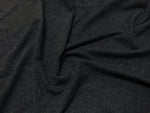 Black - Rumour Jersey Knit - 1/2 metre
