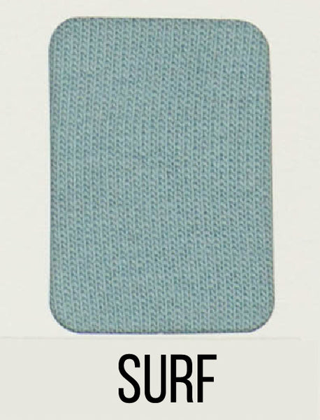 Surf - LUXE Solids FRENCH TERRY - 1/2 Metre