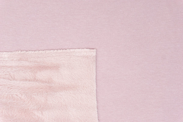 French Rose - FLUFF Sweater Fleece - 1/2 Metre