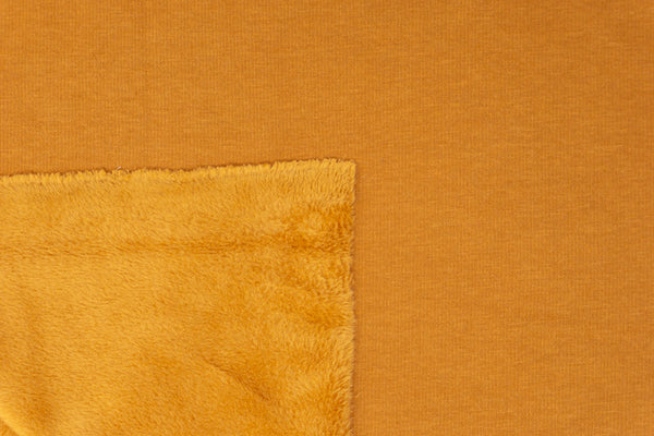 Caramel - FLUFF Sweater Fleece - 1/2 Metre