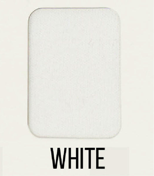 White - LUXE Solids FRENCH TERRY - 1/2 Metre