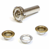 Grommets Antique Gold with Tool - 8mm (5⁄16″) - 14 pcs