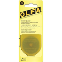 45mm Rotary Cutter Blades - 2-pack - Olfa