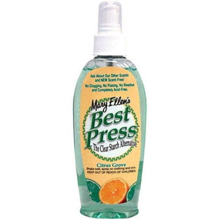 Best Press Spray Starch Citrus Grove 6oz