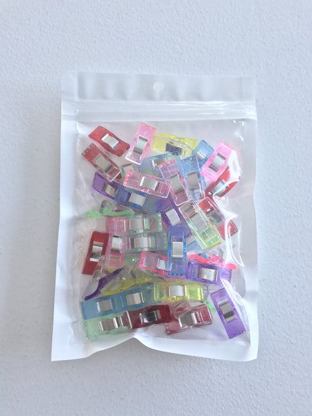 Miracle Clips - Mixed Colours - 50 pieces