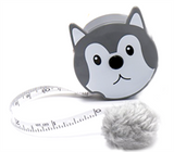Fluffy Metr Retractable Tape Measure - 150cm/60""
