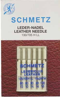 SCHMETZ Leather Needles - Assorted - 5 Pieces