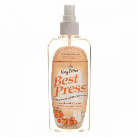 Best Press Spray Starch Peaches & Cream 6oz