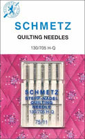 SCHMETZ Quilting Needles - 75/11 - 5 Pieces