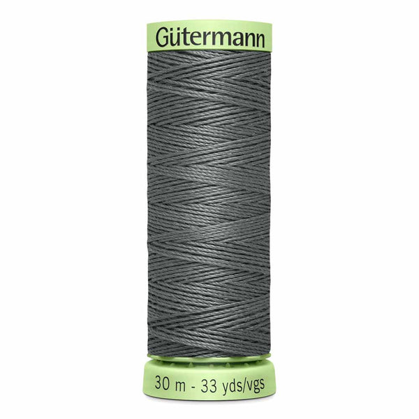 Rail Grey - Col. 115 - Gutermann Top Stitching Twist Thread - 30 metres