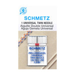 SCHMETZ Twin Needle Carded - 80/12 - 2.5mm - 1 Piece