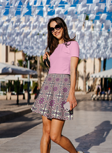 Load image into Gallery viewer, The Adriana Flare Skirt in Pink