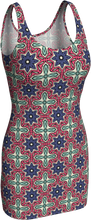 Load image into Gallery viewer, The Adriana Fitted Dress in Tricolour