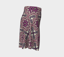 Load image into Gallery viewer, The Adriana Flare Skirt in Pink-Clash Patterns