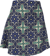 Load image into Gallery viewer, The Adriana Flare Skirt in Purple and Green
