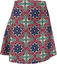 Load image into Gallery viewer, The Adriana Flare Skirt in Tricolour