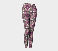 Load image into Gallery viewer, The Adriana Leggings in Pink-Clash Patterns