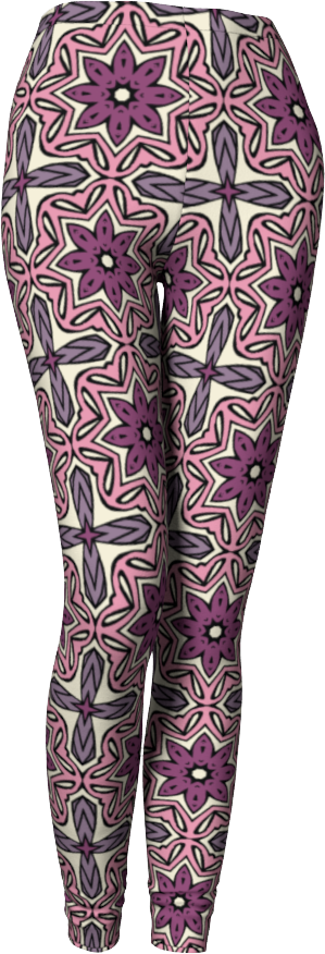 The Adriana Leggings in Pink