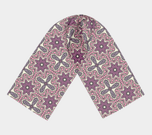 Load image into Gallery viewer, The Adriana Long Scarf in Pink-Clash Patterns