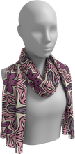 Load image into Gallery viewer, The Adriana Long Scarf in Pink