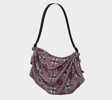 Load image into Gallery viewer, The Adriana Origami Bag in Pink-Clash Patterns