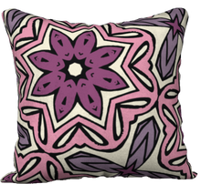 Load image into Gallery viewer, The Adriana Reversible Pillow in Pink