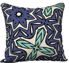 Load image into Gallery viewer, The Adriana Reversible Pillow in Purple and Green