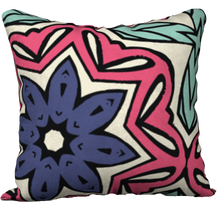 Load image into Gallery viewer, The Adriana Reversible Pillow in Tricolour