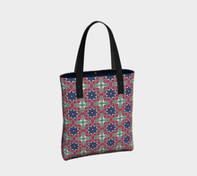 Load image into Gallery viewer, The Adriana Tote Bag in Tricolour-Clash Patterns
