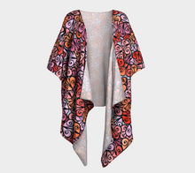 Load image into Gallery viewer, The Autumn Kimono in Reds-Clash Patterns