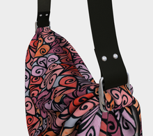Load image into Gallery viewer, The Autumn Origami Bag in Reds-Clash Patterns