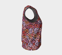 Load image into Gallery viewer, The Autumn Tank Top in Reds-Clash Patterns
