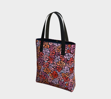 Load image into Gallery viewer, The Autumn Tote Bag in Reds-Clash Patterns