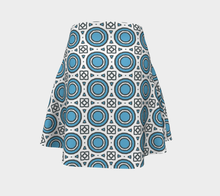 Load image into Gallery viewer, The Beth Flare Skirt-Clash Patterns