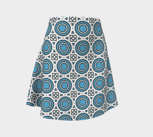The Beth Flare Skirt-Clash Patterns