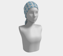 Load image into Gallery viewer, The Beth Long Scarf in Blue and White