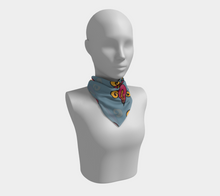 Load image into Gallery viewer, The Charlene Square Scarf in Grey