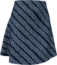 Load image into Gallery viewer, The Darlene Flare Skirt  in Navy