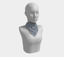 Load image into Gallery viewer, The Darlene Square Scarf in Grey
