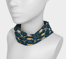 Load image into Gallery viewer, The Davina Headband in Navy and Green