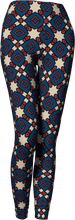 Load image into Gallery viewer, The Davina Leggings in Navy and Red
