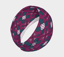 Load image into Gallery viewer, The Evangeline Headband in Raspberry