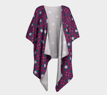 Load image into Gallery viewer, The Evangeline Kimono in Raspberry