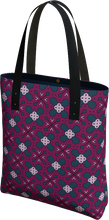 Load image into Gallery viewer, The Evangeline Tote Bag in Raspberry